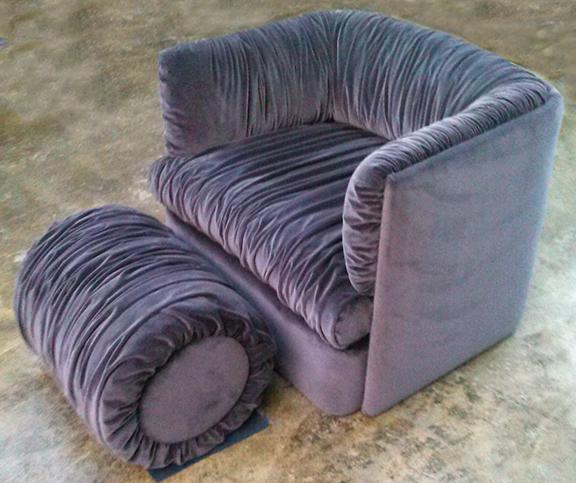 PurpleChair+Ottoman